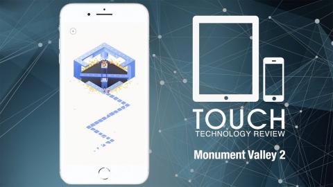 Monument Valley 2 -  A world of illusion in the style of M.C Escher